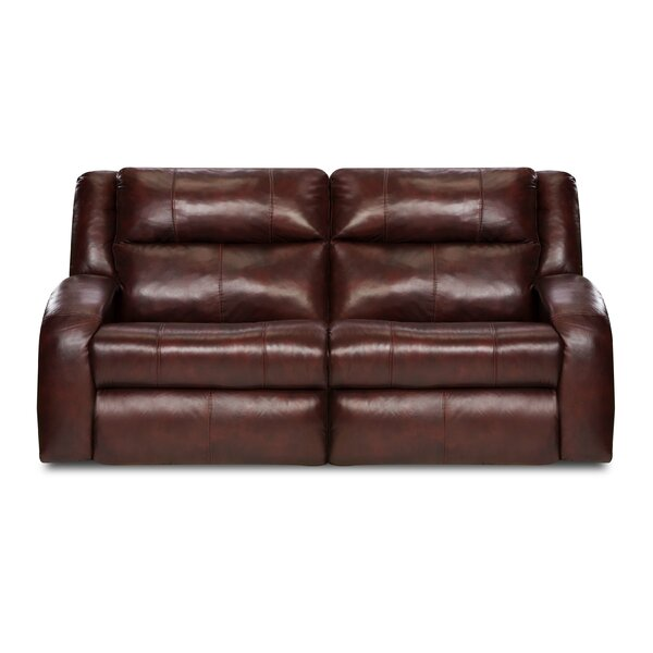 Maverick Leather Reclining Loveseat by Southern Motion