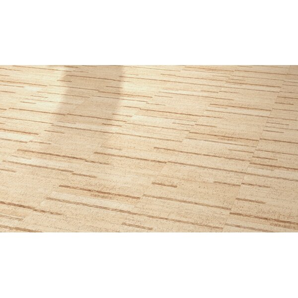 Cork Essence 17-1/2 Cork Flooring in Linn Blush by Wicanders