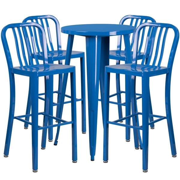 Cohutta 5 Piece Bar Height Dining Set by Latitude Run