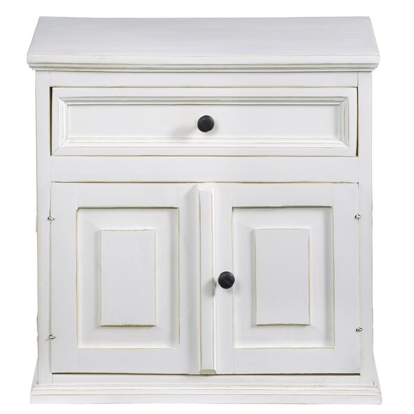Devencove 1 Drawer Nightstand by Winston Porter
