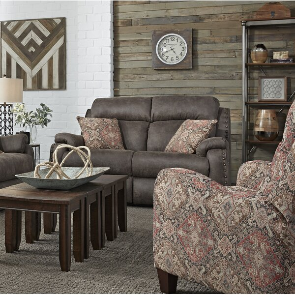Ribbon Double Reclining Loveseat by Southern Motion