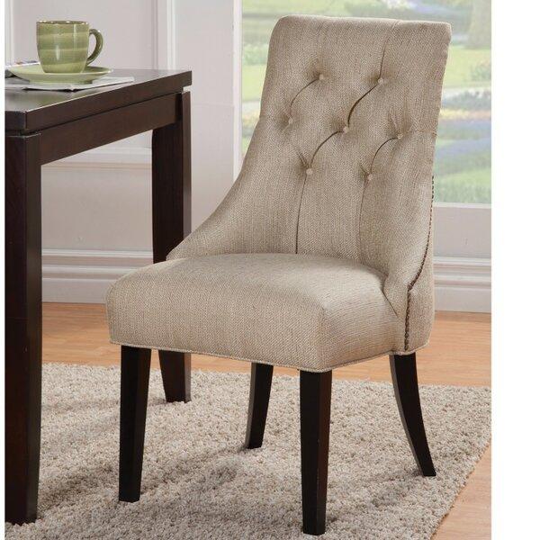 Clifton Dazzling Tufted Side Chair by Fleur De Lis Living