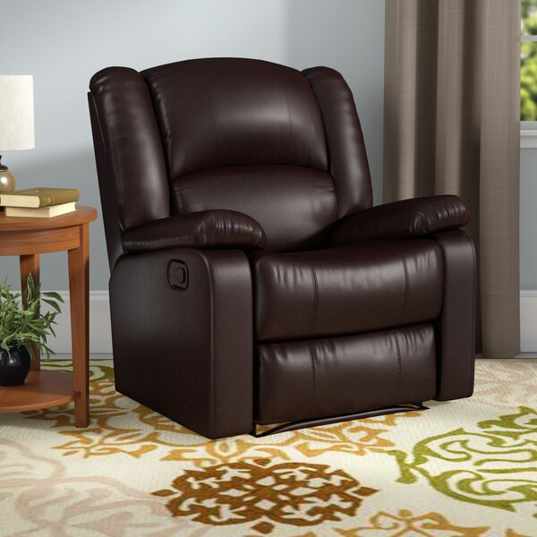 Parsonsfield Manual Glider Recliner by Andover Mil