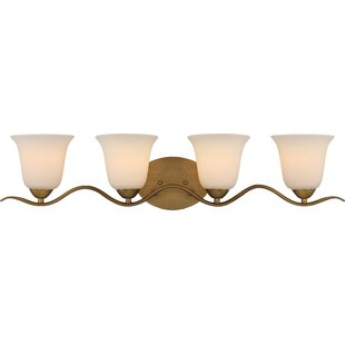 Affordable Price Ehrlich 4-Light Vanity Light By Charlton Home