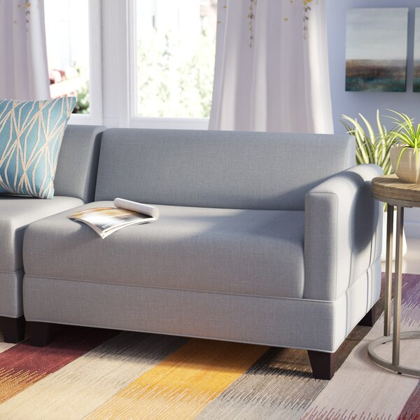 Eric Right Arm Loveseat by Zipcode Design