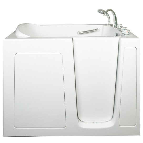 Low Threshold Air Massage Whirlpool Walk-In Tub by Ella Walk In Baths
