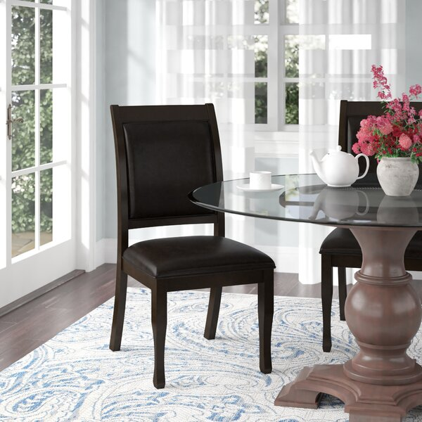 William Upholstered Dining Chair (Set of 2) by Latitude Run Latitude Run
