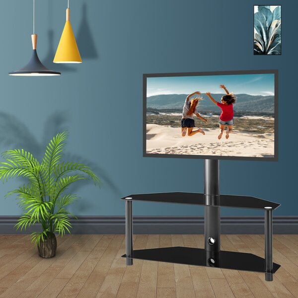 Multi-Function Metal Frame Floor Stand Mount For 32