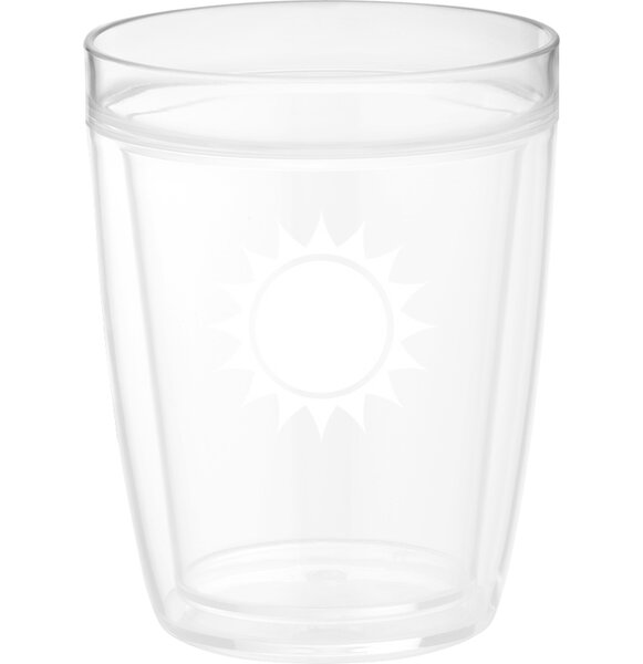 Highlawn 14 Oz. Crystal Every Day Glass (Set of 4) by Winston Porter