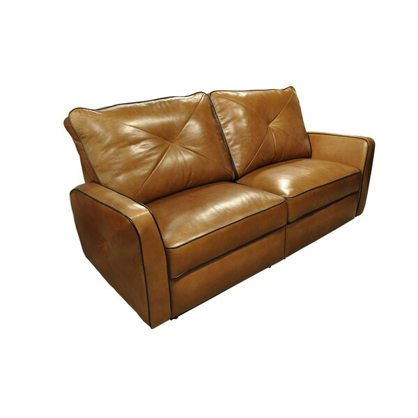 Bahama Leather Reclining Sofa by Omnia Leather
