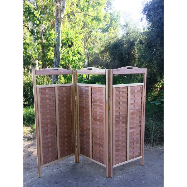 Torin 3 Panel Room Divider by Bayou Breeze