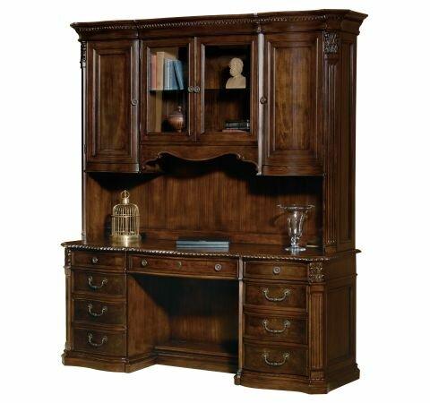 Peninsula Executive Desk by Astoria Grand