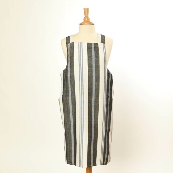 Cross Back Cotton Apron by Red Barrel Studio