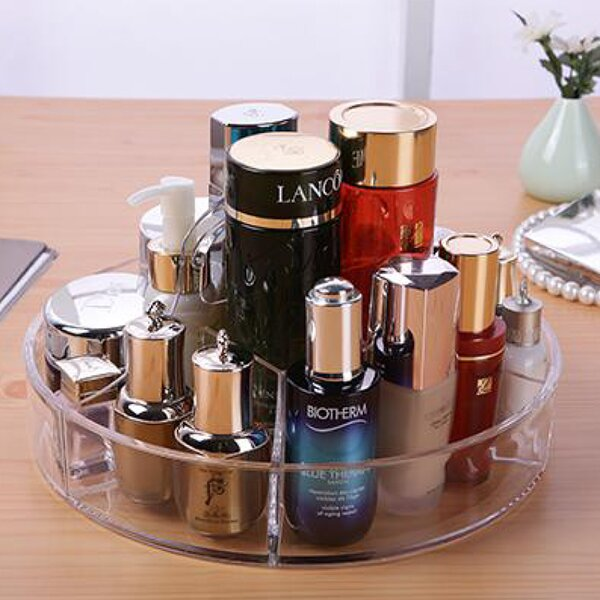 Deluxe Circular Cosmetic/Jewelry Organizer Tray by Vandue Corporation