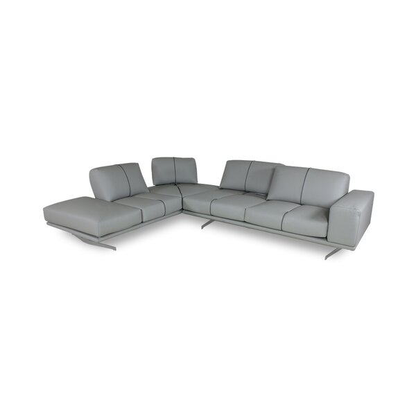 Ozora Leather 172 Left Hand Facing Sectional
