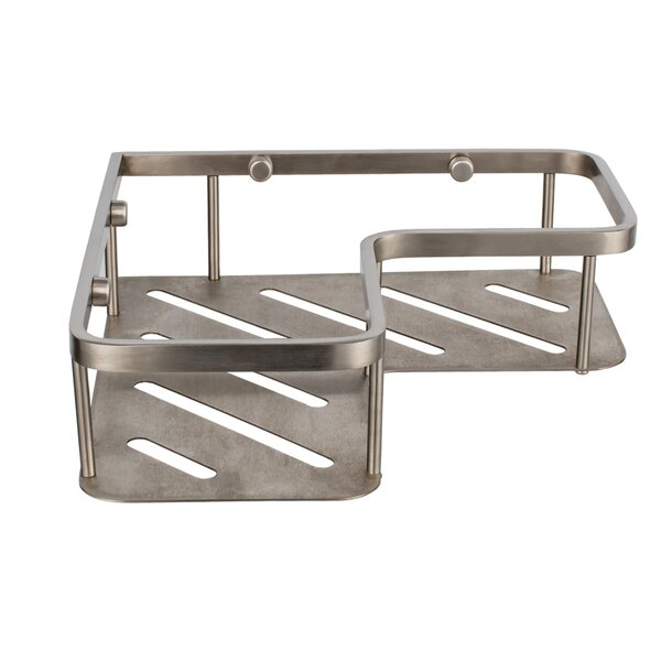 Aderholt Metal Drill & Screw Mount Shower Caddy by Wrought Studio