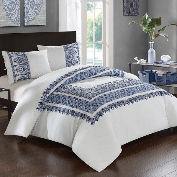 Mabel Cotton 3 Piece Comforter Set by Mistana