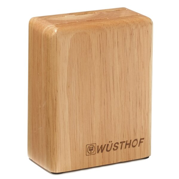 6-Slot Beech Steak Knife Block by Wusthof