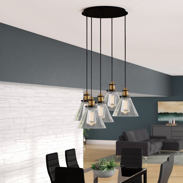 Eve 5-Light Cluster Pendant by Langley Street