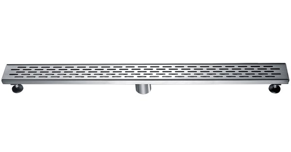 Stainless Steel 2 Grid Shower Drain by Alfi Brand