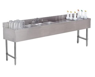 Bon Free Standing Utility Sink With Faucet