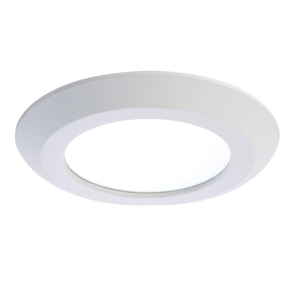 Integrated LED 6 Stepped Baffle Recessed Trim by Halo