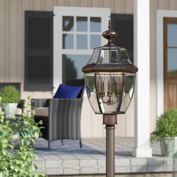 Millbrook Outdoor 3-Light Incandescent Lantern Head by Three Posts