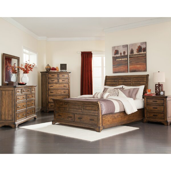 Pinole Sleigh Configurable Bedroom Set by Loon Peak