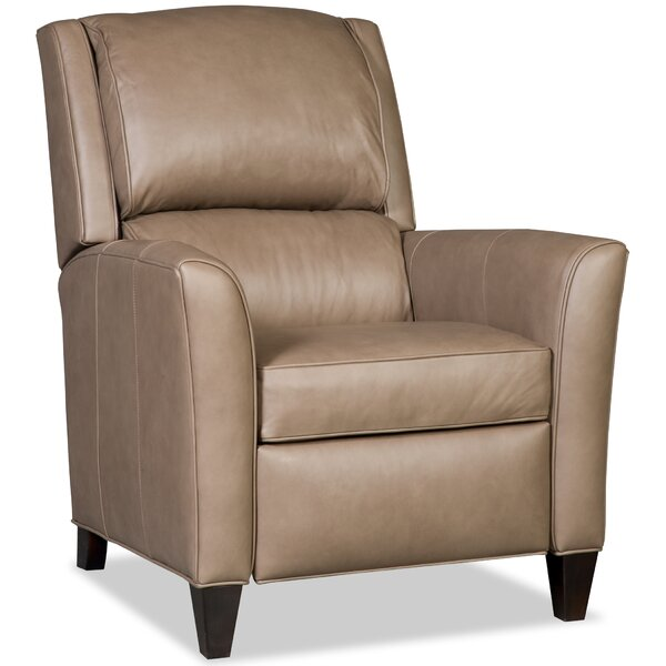 Roswell 3-Way Leather Manual Recliner by Bradington-Young