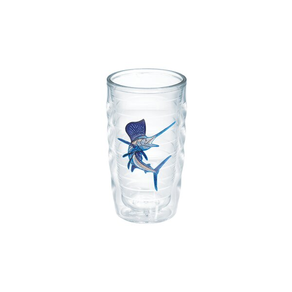 Guy Harvey Sailfish 10 oz. Plastic Every Day Glass by Tervis Tumbler