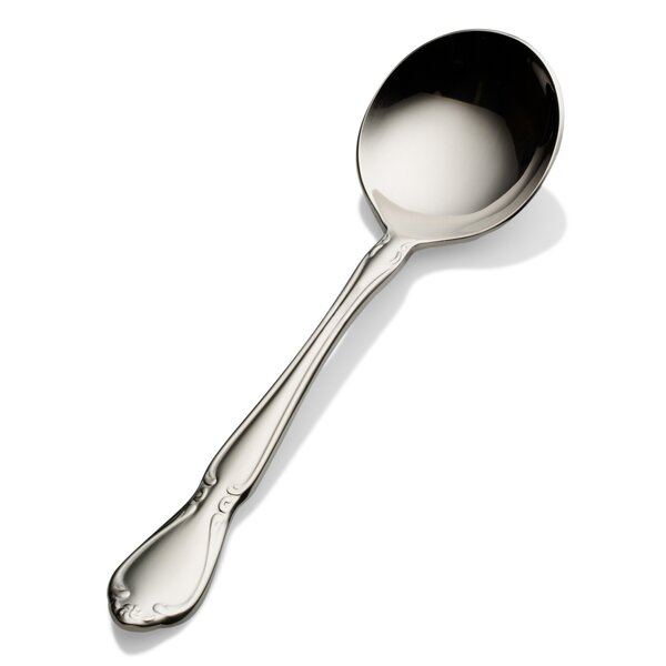 Queen Anne Bouillon Spoon (Set of 12) by Bon Chef