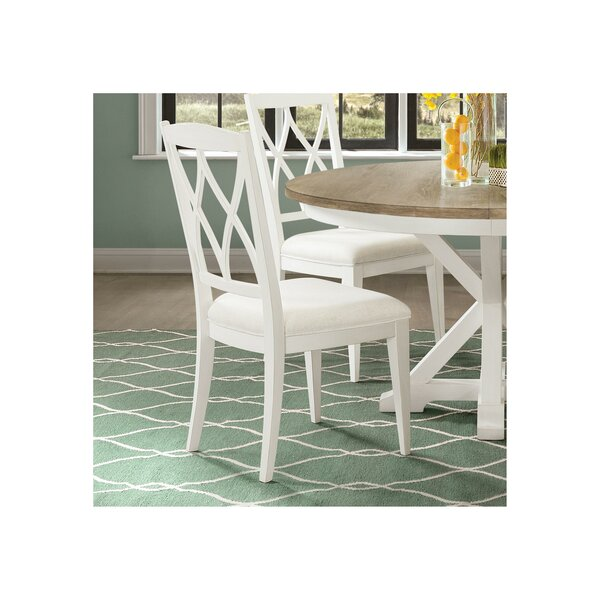Tenley Upholstered Dining Chair (Set of 2) by August Grove