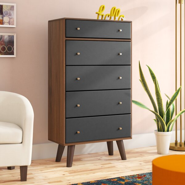 Scott 5 Drawer Chest by George Oliver