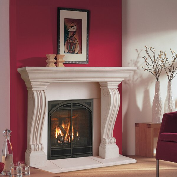 Chateau Jordana Fireplace Surround by Historic Mantels Limited