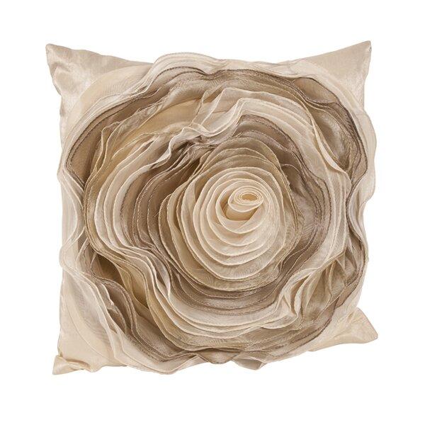 Rose Throw Pillow by Saro