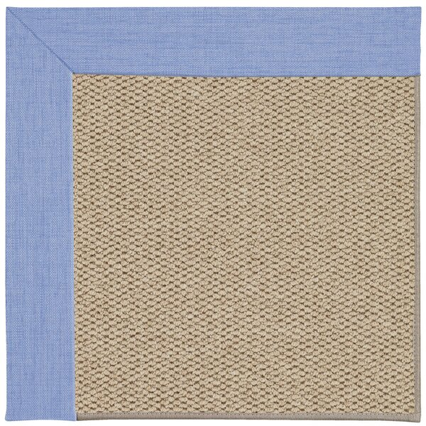 Barrett Champagne Machine Tufted Spa/Beige Area Rug by Highland Dunes