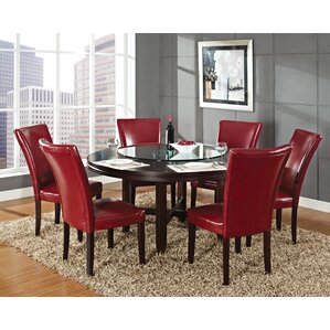 6 Seat Round Kitchen & Dining Tables You\'ll Love | Wayfair