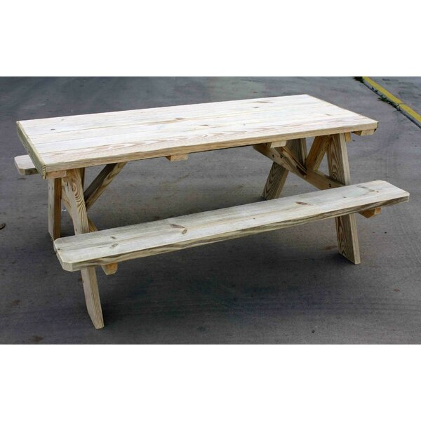 Picnic Table by Cedar Creek Woodshop