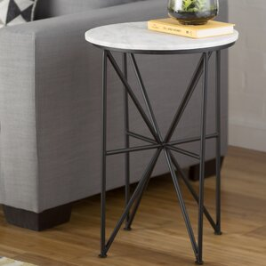Basnight End Table by Mercury Row