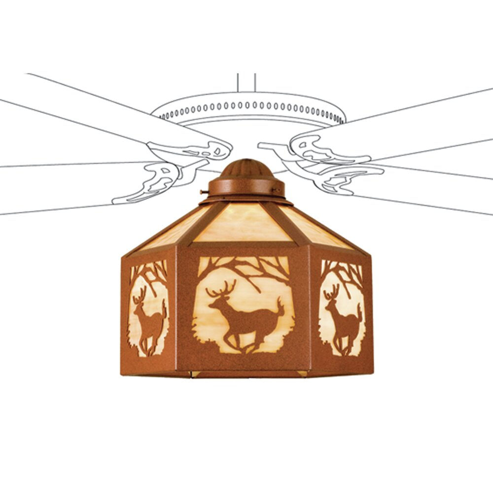 Universal Ceiling Fan Bowl Light Kit