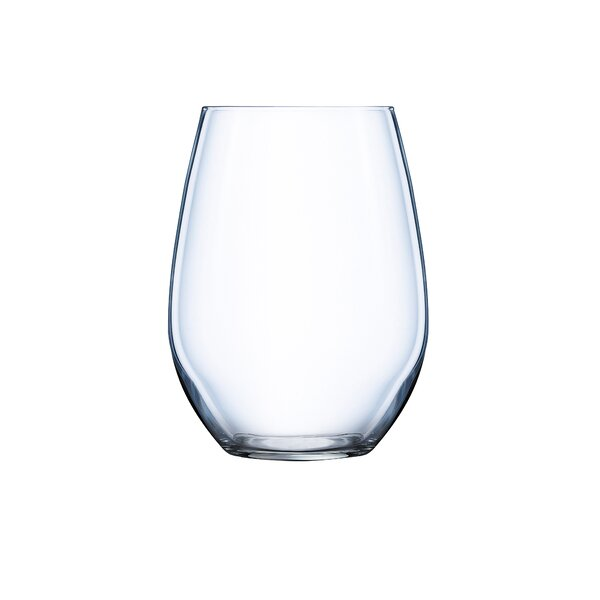 Domaine 16.75 Oz. Stemless Wine Glass (Set of 6) b