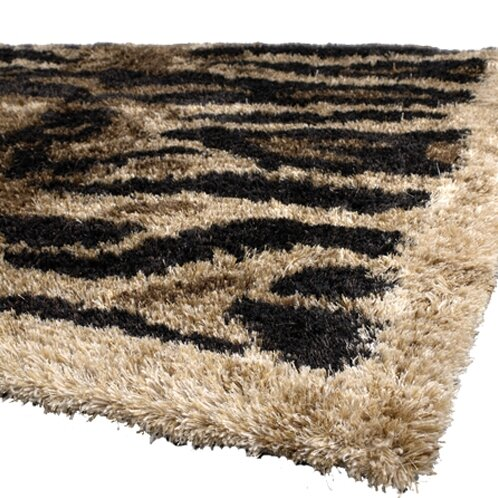 Vanetta Brown / Tan Area Rug by Bloomsbury Market