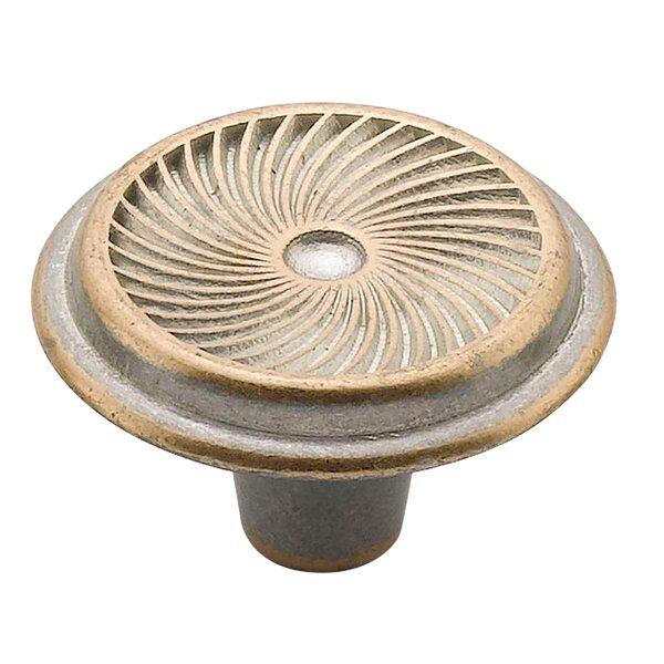 Swirl Mushroom Knob by Knobware