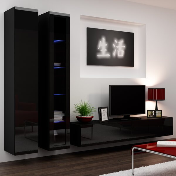 Masie Entertainment Center by Orren Ellis