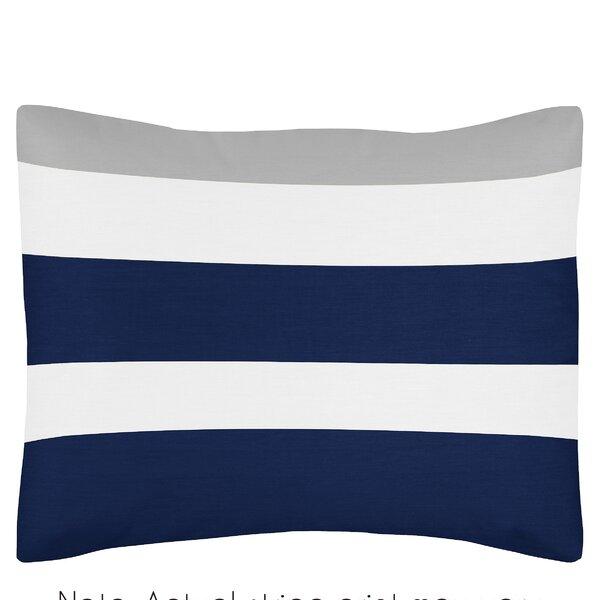 Stripe Standard Pillow Sham By Sweet Jojo Designs.