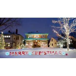 merry christmas yard signs - Wayfair Outdoor Christmas Decorations