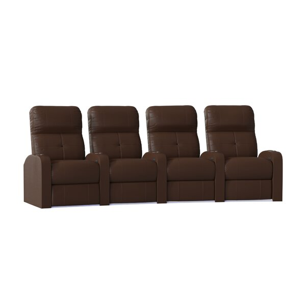 Tufted Home Theater Row Seating (Row Of 4) By Latitude Run