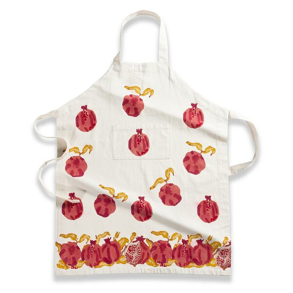 Pomegranate Yellow Apron by Couleur Nature