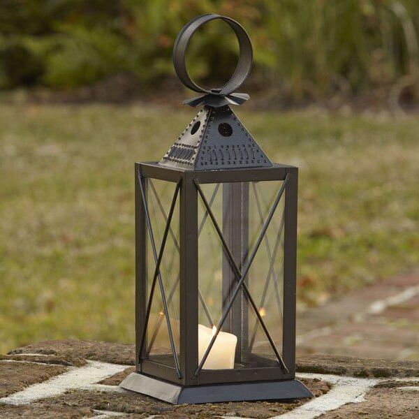 Tavern Glass/Metal Lantern by Birch Lane™