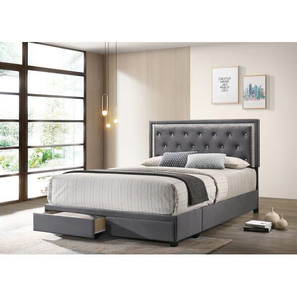 Butera Upholstered Storage Platform Bed By Red Barrel Studio